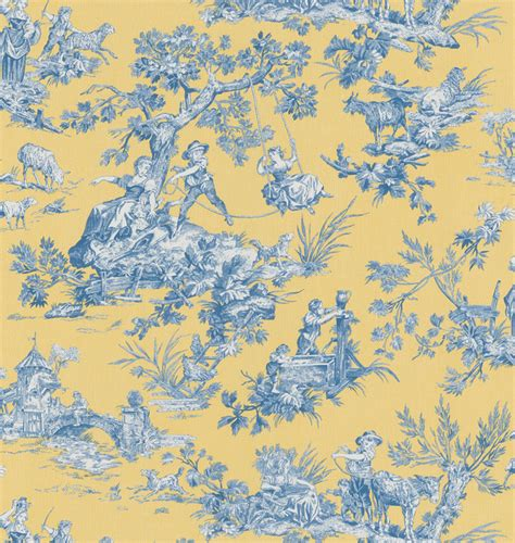 wallpaper toile blue brewster blue botanical toile wallpaper contemporary