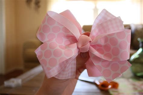 best bow making tutorial how to make hair bows