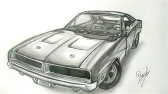 Dodge Charger Drawing Dodge Charger 1969 Speed Drawing