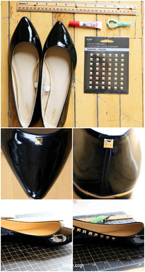Nieten Schuhe Selber Machen 1593 schuhe selber machen pfiffige diy ideen f 252 r ihre