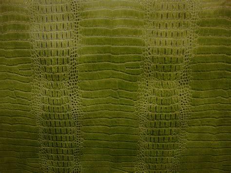alligator skin upholstery leather crocodile nile lime embossed faux vinyl fake