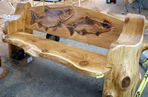 Log Benches How To Build Chainsaw Carved Wood Benches Free Wood Carving Bench
