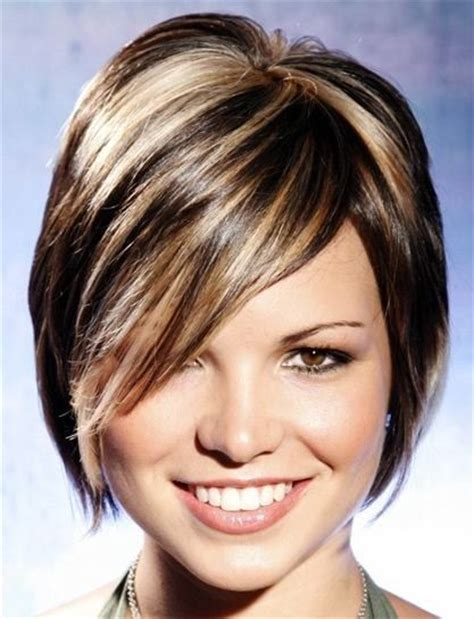 womans haircut foils style highlights and short hairstyles on pinterest