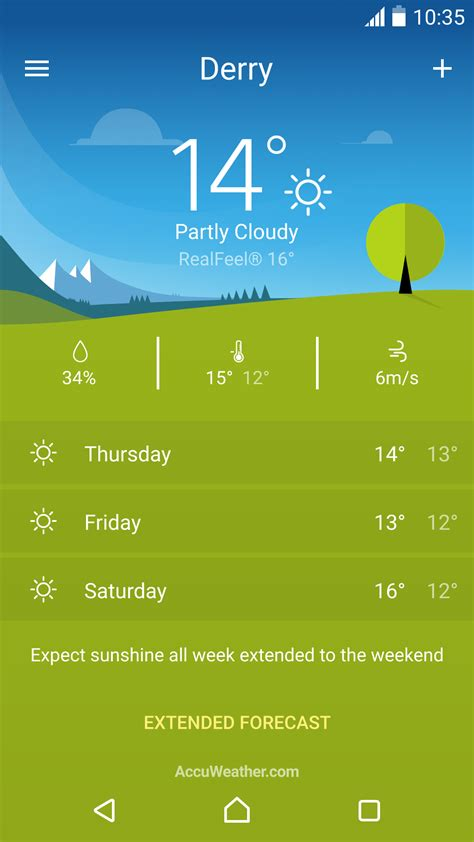 android weather app sony s xperia weather app is out of beta and live in the play store