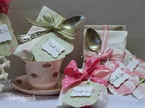 Tea Wedding Shower Favors by Inkingpink Bridal Tea Shower Favors