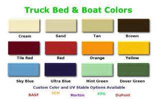 colored bed liner custom color truck bedliner