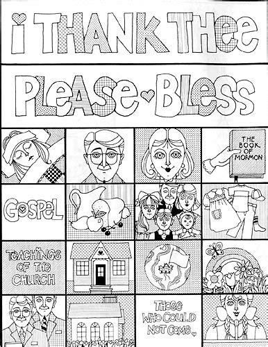 lds coloring pages family prayer lesson 12 i can pray with my family lds lesson ideas