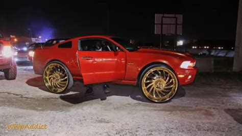 ford gold paint whipaddict 2014 ford mustang 5 0 on gold amani forged