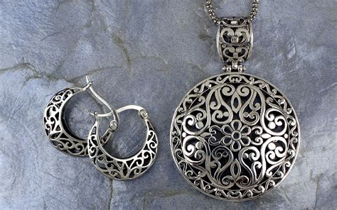sterling silver to make jewelry sterling silver bali inspired filigree pendant