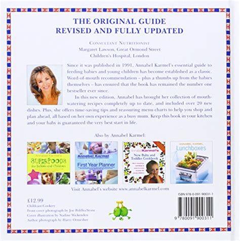 libro annabel karmels new complete libro annabel karmel s new complete baby toddler meal planner 4th edition di annabel karmel