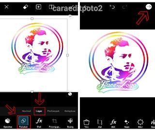 kumpulan tutorial picsart cara edit face logo keren di picsart android