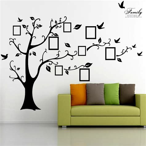 Wallpaper 5m Wallpaper Dinding Wallpaper Stiker 99 2 5m removable memory tree picture frames wallpaper photo