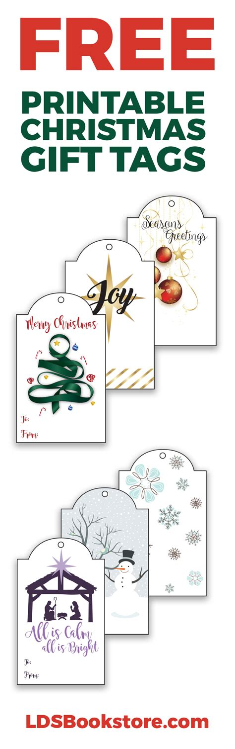 printable lds christmas cards free printable lds christmas gift tags lds daily