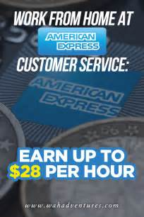 american express work at home customer service