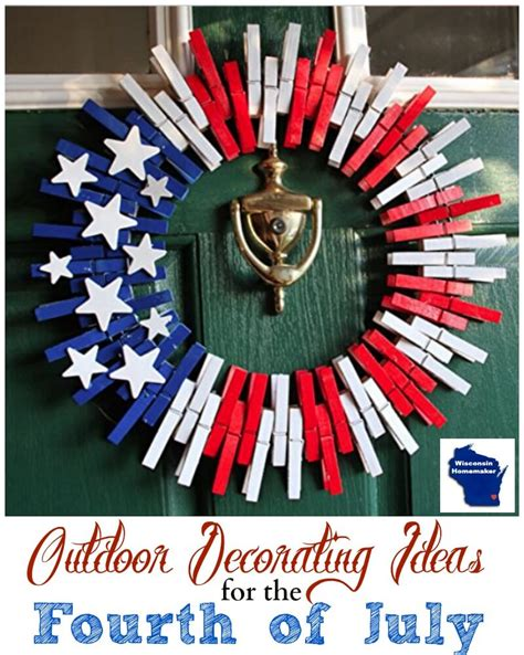 4th of july backyard decorations outdoor decorating ideas for 4th of july wisconsin homemaker