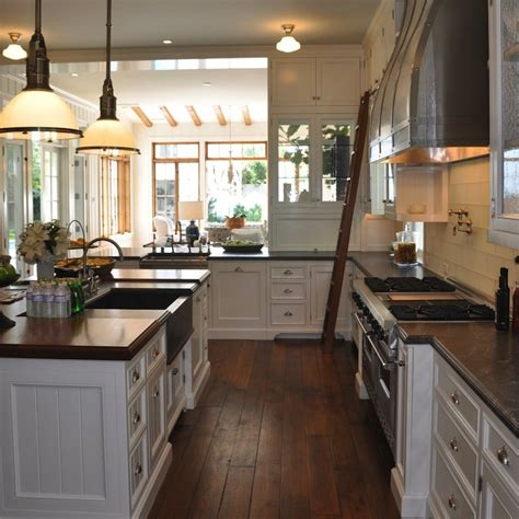 u shaped kitchen transitional kitchen giannetti home