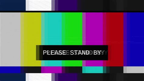 color bars tv tv color bars stand by www pixshark images
