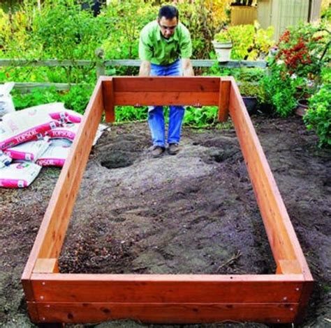 building a flower bed diy raised flower beds interesting ideas for home
