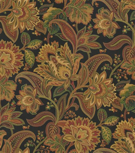 home decor print fabric smc designs valentina noir jo