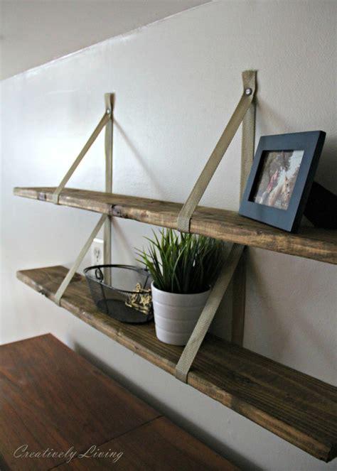 diy wood shelves diy wall decor ideas work it wednesday the happy housie