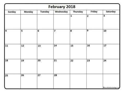 printable calendar 2018 january february february 2018 calendar february 2018 calendar printable
