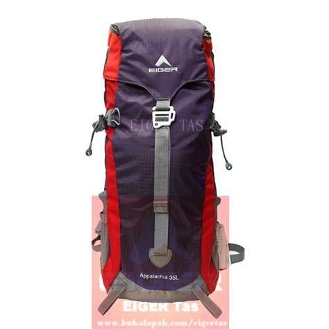 Tas Carrier Eiger 1184 Appalachia 35 L Blue Ransel Gunung Outdoor jual tas carrier eiger appalachia 1184 purple 35 l cover di lapak eiger tas eigertas