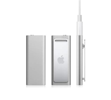Apples Ipod Shuffle Now Out In A Selection Of Colours by Apple S New Ipod Shuffle