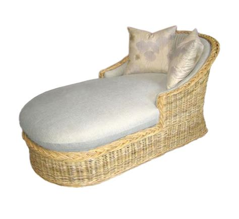 rattan chaise lounge indoor classic chaise lounge wicker material indoor