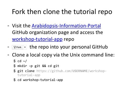 github tutorial unix tutorial 1 your first science app araport developer