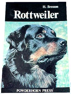 rottweiler books rottweiler books