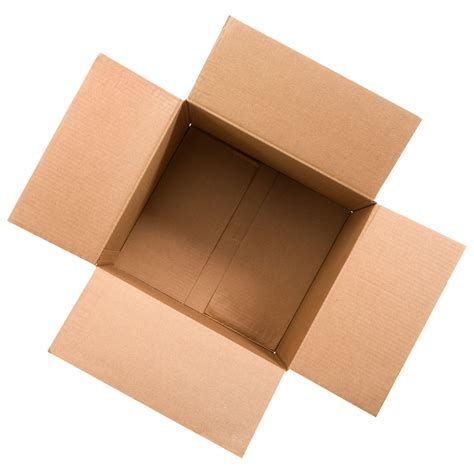 www box open cardboard box png
