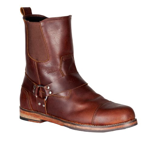 mens motorcycle boots spada kensington motorcycle boots brown leather motorbike