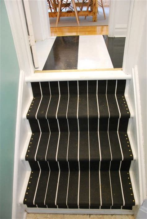 carpet stair treads ikea how to install your own diy stair runner with ikea rugs