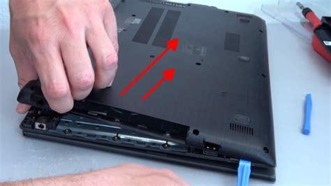 Harddisk Notebook Acer Aspire acer aspire e15 laptop 246 ffnen hdd ssd akku batterie ram l 252 fter wechseln mit 4k