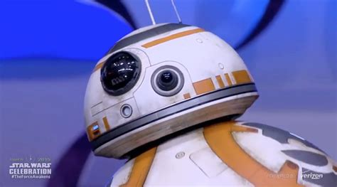 Bb Name by Bb 8 Droid From The Awakens Rolls Out On Stage At