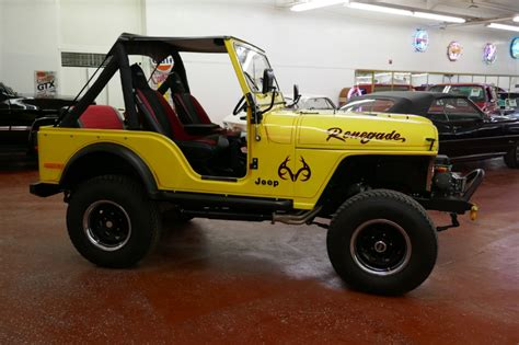 Jeep Cj4 1978 Jeep Renegade 4x4 Fresh Frame Restored Cj4 Like