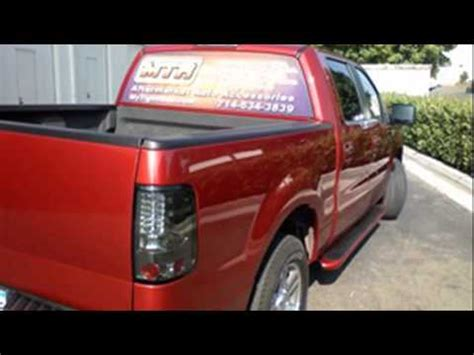 2006 f150 tail lights ford f150 led tail lights youtube