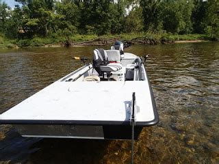 jon boat anchor pulley a fly fishing report and blog for the white and norfork