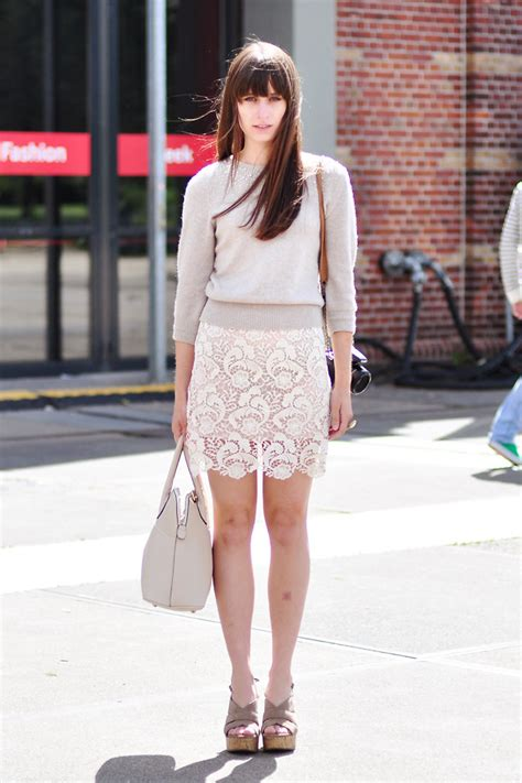 Fashion News Weekly Websnob Up Bag Bliss 3 by Gommans H M Sweater Miss Patina Lace Skirt