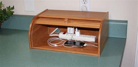 diy wood charging station diy breadbox charging station today s homeowner