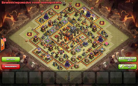 th10 layout post update th10 war base after the 275 walls update