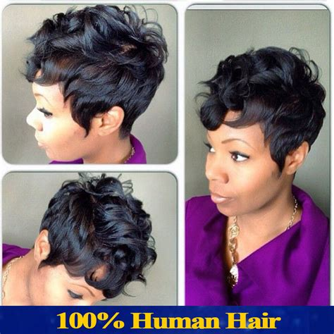 bob cut with bump hair brazilian virgin human hair short wigs for black women