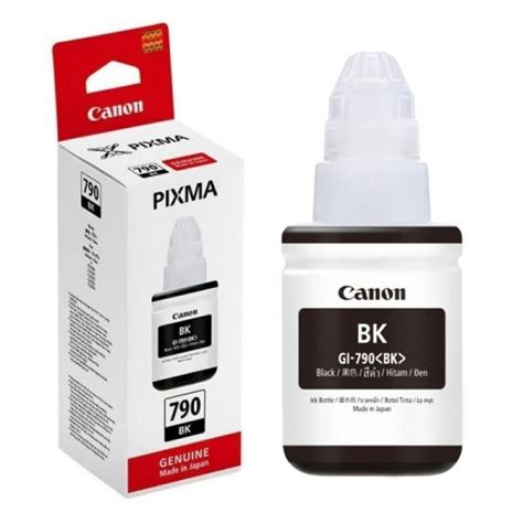 Tinta Printer Canon Black Jual Canon Gi 790 Cartridge Tinta Printer Black