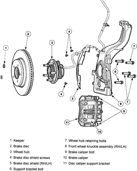 online service manuals 2005 ford excursion regenerative braking service manual how to repair front brake caliper 2001 mercury mountaineer rear disc brake