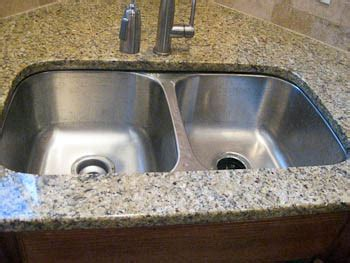how to install undermount bathroom sink to granite install undermount kitchen sinks granite