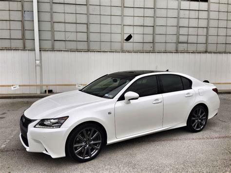 lexus gs   sport white lexus pinterest cars