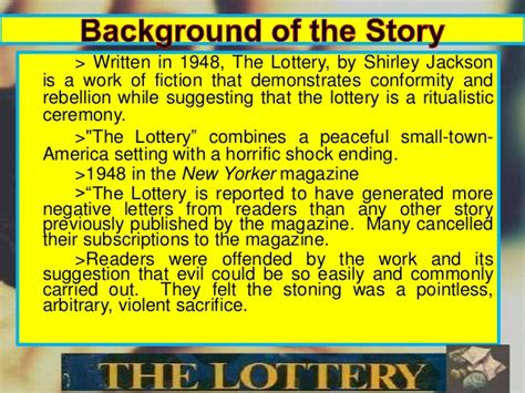 thesis for the lottery college essays college application essays the lottery