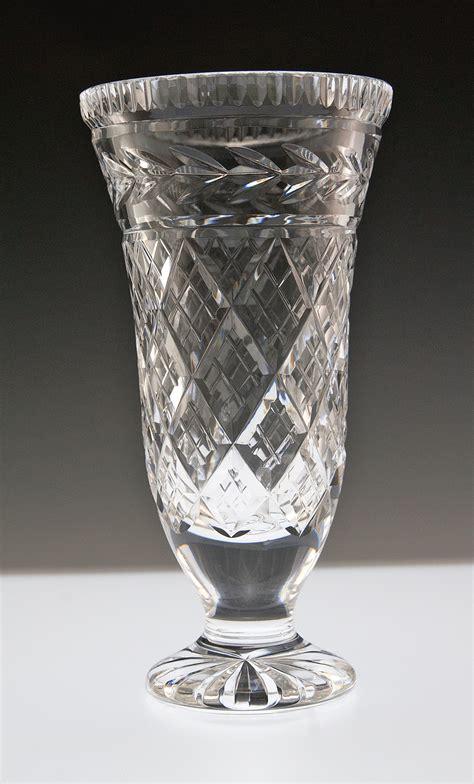 waterford vase vintage waterford vase glandore variation retro