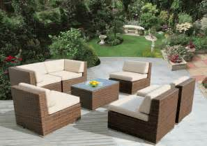 beautiful outdoor patio wicker furniture balcony set new