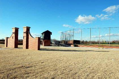 Saltbox Colonial by Oklahoma Baptist University Baseball Field Locationshub